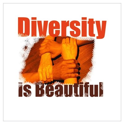 Diversity is Beautiful Canvas Art