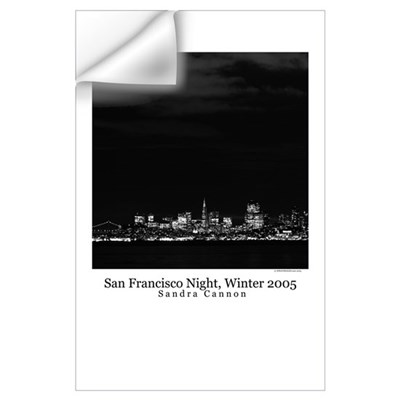black + white photography Wall Decal