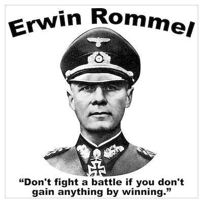 Rommel Don't Fight Poster