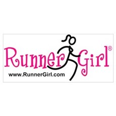 RunnerGirl Framed Print
