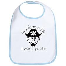 Pirate in Former Life Bib