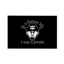 Pirate in Former Life Rectangle Magnet
