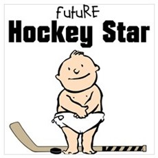 Future Hockey Star Framed Nursery Print Framed Print