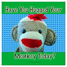 Hugged Monkey? Poster