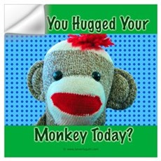 Hugged Monkey? Wall Decal