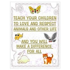 """""""Teach your children"""" Poster"""