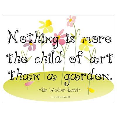 Gardening as Art Poster