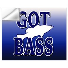 GOT BASS Wall Decal