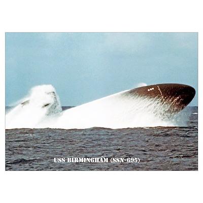 USS BIRMINGHAM Poster