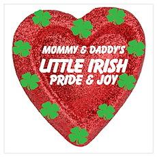 Irish Pride and Joy/Mom/Dad Poster
