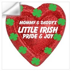 Irish Pride and Joy/Mom/Dad Wall Decal