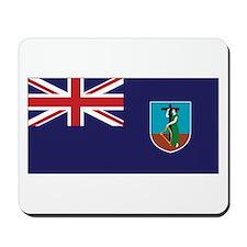 Montserrat Flag Mousepad
