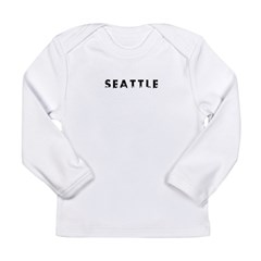 Seattle Long Sleeve Infant T-Shirt
