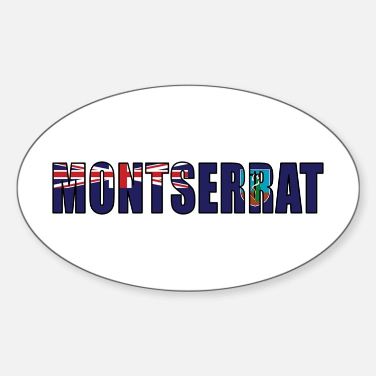 Montserrat Decal