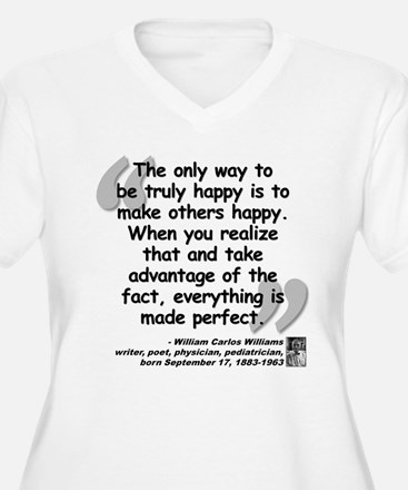 Williams Happy Quote T-Shirt