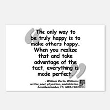 Williams Happy Quote Postcards (Package of 8)