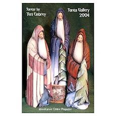 2004 Santa Gallery Poster