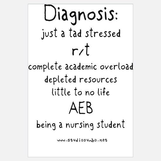 Tad Stressed Student Nurse