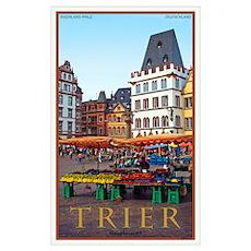 Trier Hauptmarkt Poster