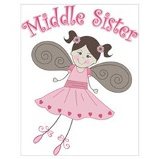 Ballerina Middle Sister Poster