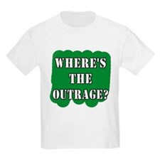 Where's the Outrage? Kids T-Shirt
