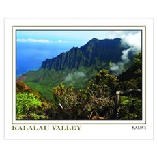 Kalalau Valley (16x20) Canvas Art