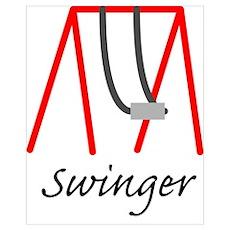 Swinging Swinger Poster