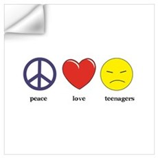 Teenagers Wall Decal