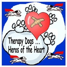 Therapy Dogs! Poster