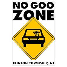 NO GOO ZONE Poster