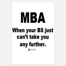 MBA, not BS