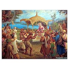 Guru Ji Di sawari Poster