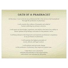Pharmacist Oath Poster