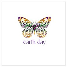 Earth Day - Butterfly Poster