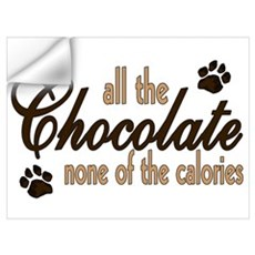 All the Chocolate Wall Decal