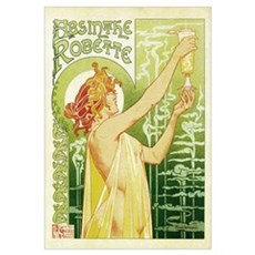Absinthe Robette Antique French Framed Print