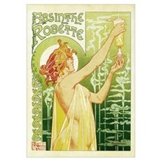 Absinthe Robette Antique French Poster