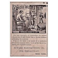 Victorian Woolen Yarn Ad