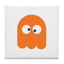 Orange Ghost (Tile Coaster)