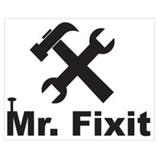 Mr Fixit Canvas Art