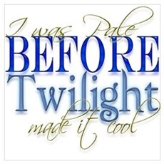 Pale before Twilight made it Poster