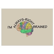 Always-Right Brained Poster