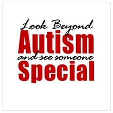Look Beyond Autism Framed Print
