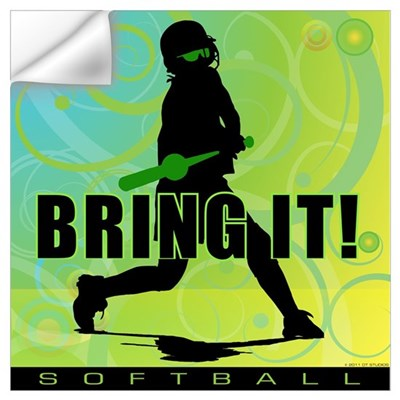 2011 Softball 102 Wall Decal