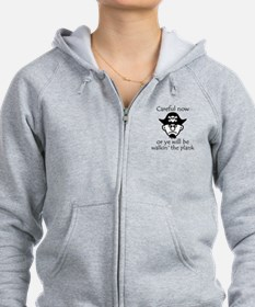 Pirate - Walking the Plank Zip Hoodie