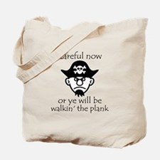 Pirate - Walking the Plank Tote Bag