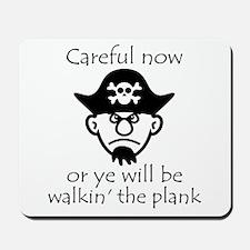 Pirate - Walking the Plank Mousepad
