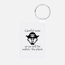 Pirate - Walking the Plank Keychains