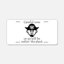 Pirate - Walking the Plank Aluminum License Plate