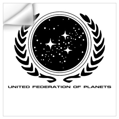 Federation Seal (mono) Wall Decal